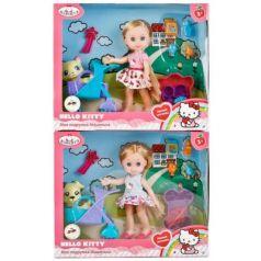 Кукла КАРАПУЗ HELLO KITTY. МАШЕНЬКА 15 см MARY63002-HK