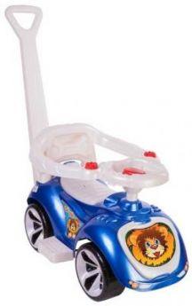 Каталка-машинка RT Мишка (LAPA) синий от 10 месяцев пластик