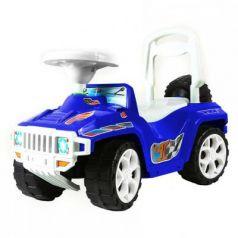 Каталка-машинка RT RACE MINI Formula 1 Полиция бело-синий от 10 месяцев пластик