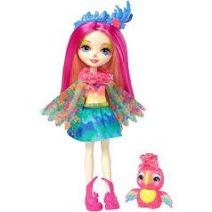 Игрушка Enchantimals кукла с любимой зверюшкой – Пикки Какаду