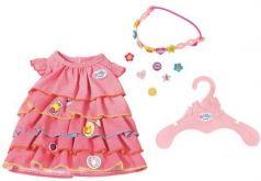 Одежда для кукол Zapf Creation Платье и ободок-украшение