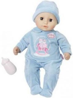 Игрушка my first Baby Annabell Кукла-мальчик с бутылочкой, 36 см, дисплей