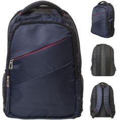 Рюкзак ACTION городской,  размер 45x32x12.5 см,  улучшенная спинка с рельефными вставками, темно-син