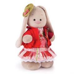 Мягкая игрушка BUDI BASA StM-217 Зайка Ми Маково-красный (большая)