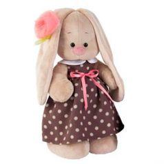 Мягкая игрушка BUDI BASA StM-143 Зайка Ми в кофейном платье (большая)