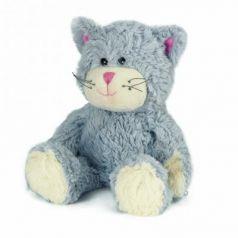 Мягкая игрушка-грелка кот Warmies Кот синий полиэстер полифилл синий
