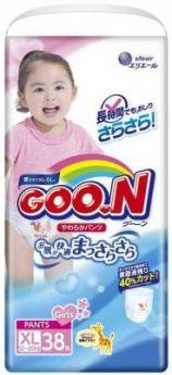 Трусики для девочек Goon Big (12-20 кг) 38 шт.