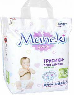 Подгузники-трусики Maneki Fantasy M (6-11 кг) 22 шт
