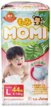 Трусики MOMI L (9-14 кг) 44 шт