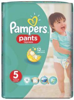 Трусики Pampers Pants 5 (11-18 кг) 15 шт