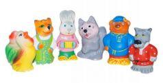 Набор игрушек для ванны Пфк игрушки Заюшкина избушка