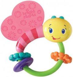 """Развивающая игрушка-погремушка Bright Starts """"Розовая бабочка"""""""