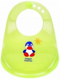 Нагрудник пластиковый Canpol арт. 2/404 цвет зеленый