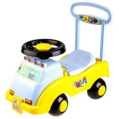 Каталка-машинка Совтехстром АВТОМОБИЛЬ-КАТАЛКА №2 желтый от 3 лет пластик У439