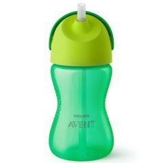 Контейнер Avent Чашка-поильник с трубочкой 1 шт зеленый от 9 месяцев SCF798/01