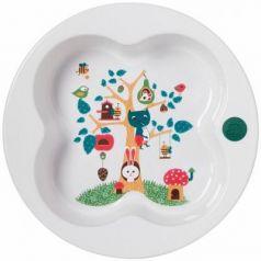 Тарелка в форме лаврового листа