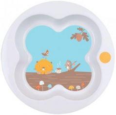 Тарелка Bebe Confort Woodcamp 1 шт белый от 1 года 3105204800