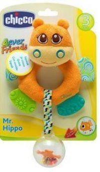 "Игрушка-погремушка Chicco ""Бегемот Hippo"""