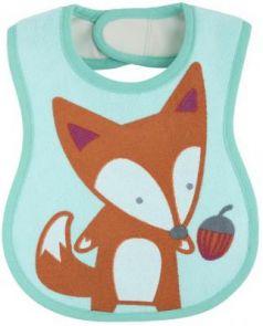 Нагрудник Chicco Easy Meal не пропускает влагу, арт. 00016301300000, 6 +, 3 шт., рисунок: лисёнок