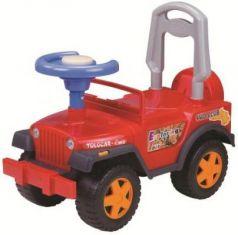 Каталка-машинка Наша Игрушка Шериф красный от 2 лет пластик 611746