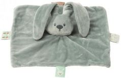 Мягкая игрушка кролик Nattou Doudou Lapidou полиэстер серый 26 см