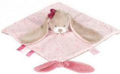 Мягкая игрушка кролик Nattou Doudou Nina, Jade Lili текстиль 28 см