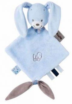 Мягкая игрушка кролик Nattou Alex Bibou Doudou Кролик 15 см