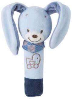 Мягкая игрушка кролик Nattou Alex Bibou Cri-Cris плюш 17 см
