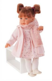 1826P Кукла Марианна в розовом, 55 см