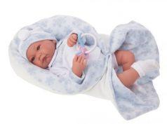 3375B Кукла Антонио в голубом, 40см
