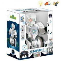 Робот радиоуправляемый Наша Игрушка Робот 24 см на радиоуправлении со звуком светящийся