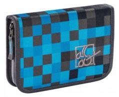 Пенал All Out 138558 Blue Pixel 1 отделение