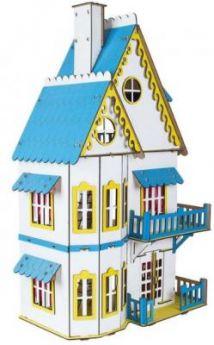 Дом для кукол Большой слон Домик для кукол белый