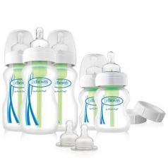 Набор из пяти бутылочек противоколик. с широким горлышком