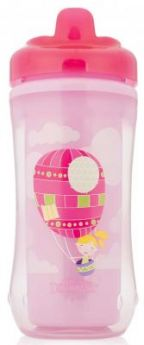 Контейнер Dr.Brown's Чашка-термос 300 мл 1 шт розовый от 1 года 00-0008309