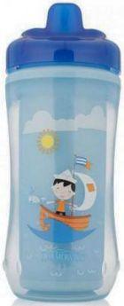 Контейнер Dr.Brown's Чашка-термос 300 мл 1 шт синий от 1 года 00-0008309