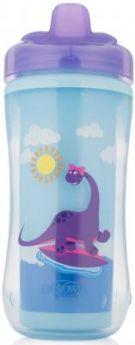 Контейнер Dr.Brown's Чашка-термос 300 мл 1 шт фиолетовый от 1 года 00-0008309