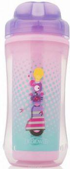 Контейнер Dr.Brown's Чашка-термос 300 мл 1 шт фиолетовый от 1 года УТ-0000151