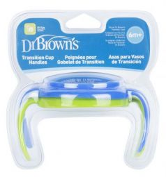 Кружка Dr.Brown's Ручки для чашек 2 шт голубой от 6 месяцев DrBr_TC071