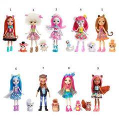 Игрушка Enchantimals Кукла с питомцем