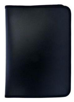 Папка для тетрадей SPONSOR ф. A4, молн с 3-х стор. , пластик, черная SFZA4-A-BK