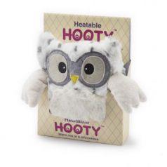 Мягкая игрушка-грелка сова Warmies Совёнок снежный полиэстер
