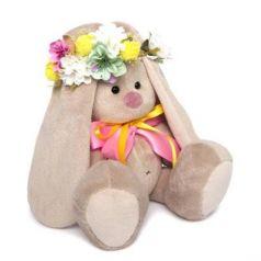 Мягкая игрушка BUDI BASA SidS-253 Зайка Ми в веночке и с бантиком (малая)
