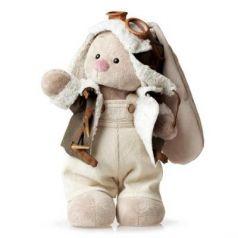 Мягкая игрушка BUDI BASA StS-037 Зайка Ми в куртке пилот (малый)