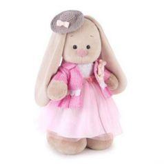 Мягкая игрушка заяц BUDI BASA Зайка Ми Розовый бутон пластик текстиль искусственный мех бежевый розовый 32 см StM-219
