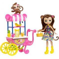 Кукла Enchantimals со зверюшкой и транспортным средством в асс-те