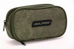 Пенал на три отделения Solaris Серый Хаки (хамелеон) S5602