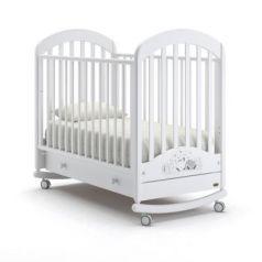 Кроватка-качалка Nuovita Grano Dondolo (bianco)