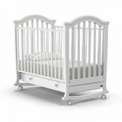Кроватка-качалка Nuovita Perla Dondolo (bianco)