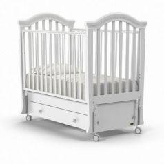 Кроватка с маятником Nuovita Perla Swing (bianco)